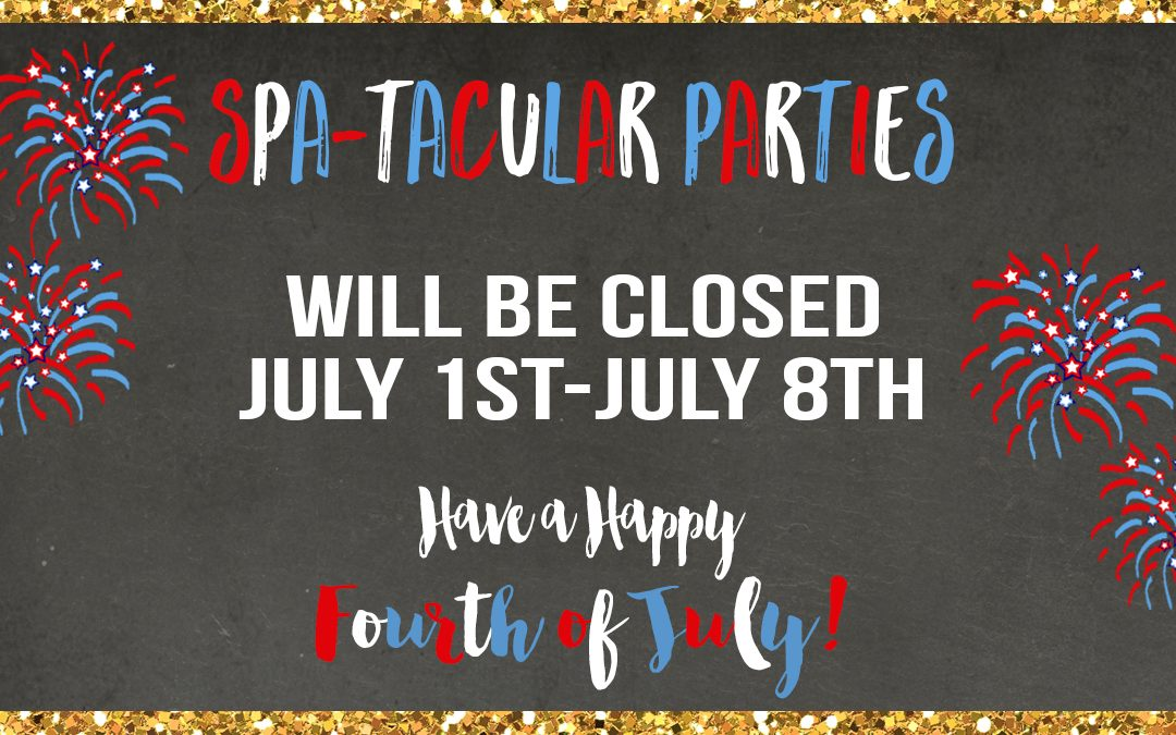 Closed from July 1st to July 8th