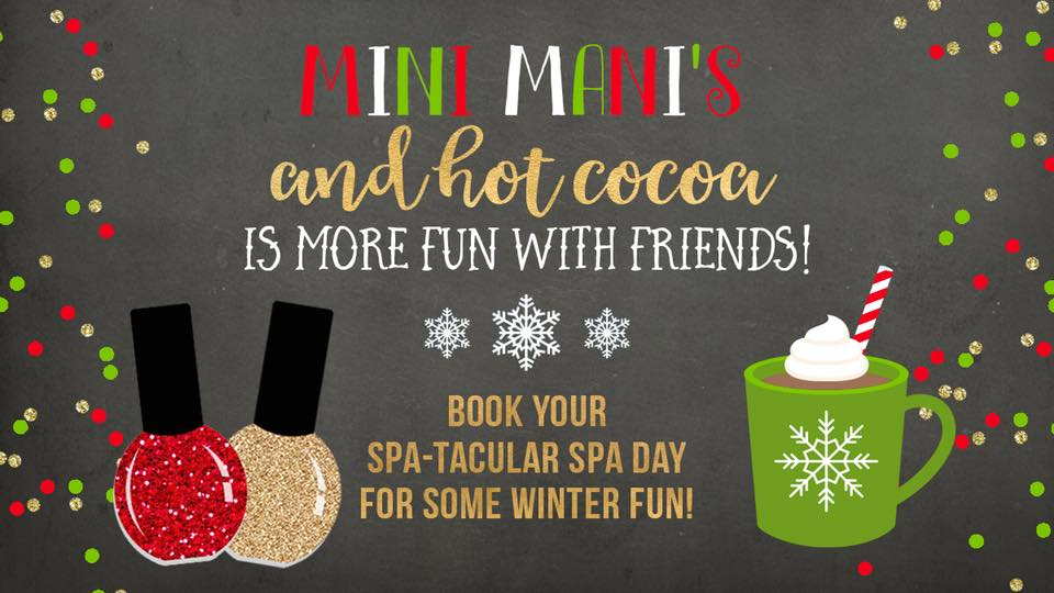 Hot Cocoa & Mini Mani's