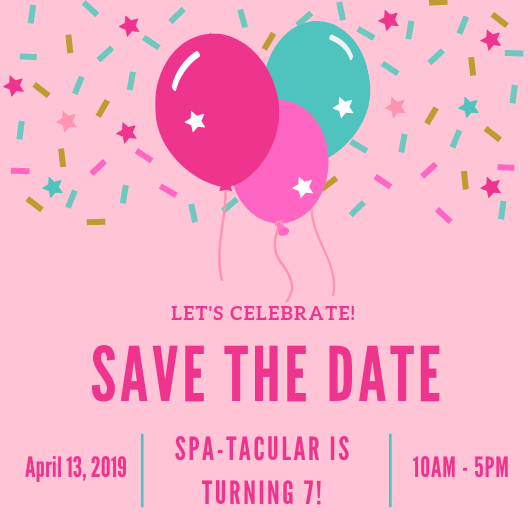 spa-tacular parties birthday party